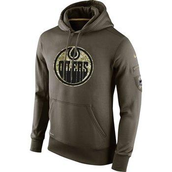 Edmonton Oilers Nike Salute To Service NHL Hoodie