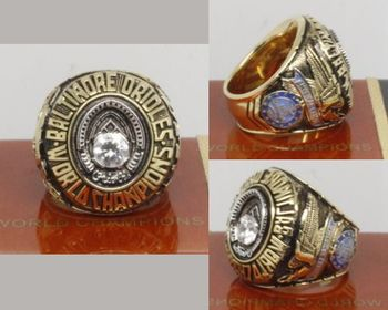 1970 MLB Championship Rings Baltimore Orioles World Series Ring