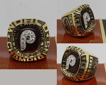 1980 MLB Championship Rings Philadelphia Phillies World Series