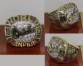 1983 MLB Championship Rings Baltimore Orioles World Series Ring