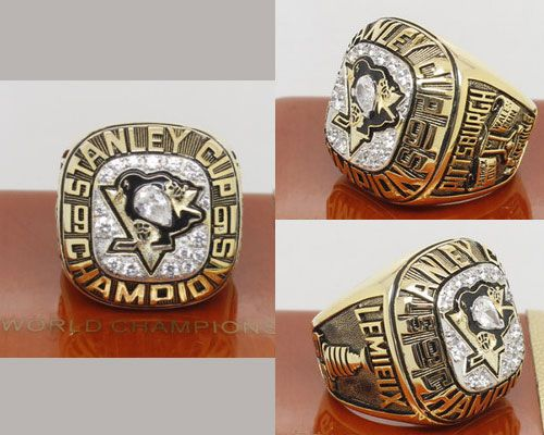 1991 NHL Championship Rings Pittsburgh Penguins Stanley Cup