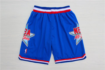 1992 All-Star Blue Hardwood Classics Shorts