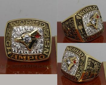 1992 MLB Championship Rings Toronto Blue Jays World Series Ring