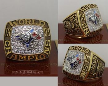 1993 MLB Championship Rings Toronto Blue Jays World Series Ring