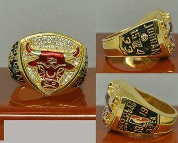 1993 NBA Championship Rings Chicago Bulls Basketball World