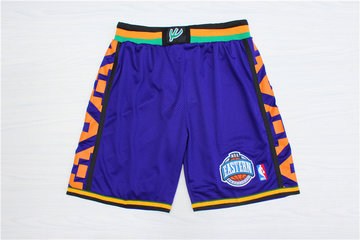 1995 All-Star Purple Hardwood Classics Shorts