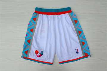 1996 All-Star White Hardwood Classics Shorts