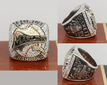 2003 MLB Championship Rings Florida Marlins World Series Ring