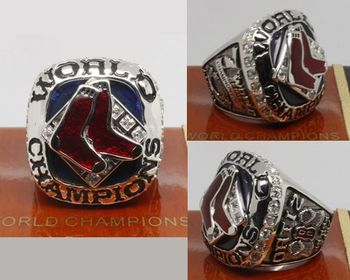 2007 MLB Championship Rings Boston Red Sox World Series Ring