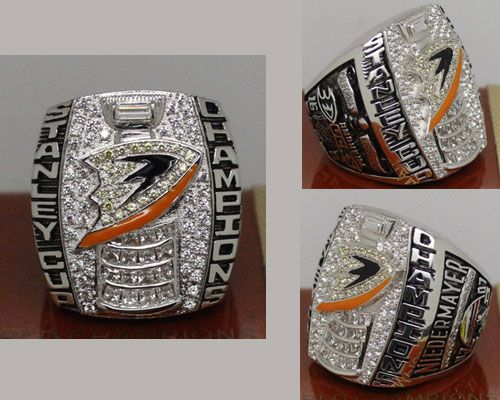2007 NHL Championship Rings Anaheim Ducks Stanley Cup Ring