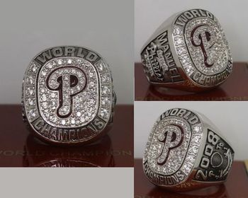 2008 MLB Championship Rings Philadelphia Phillies World Series