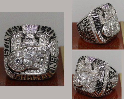 2008 NHL Championship Rings Detroit Red Wings Stanley Cup Ring