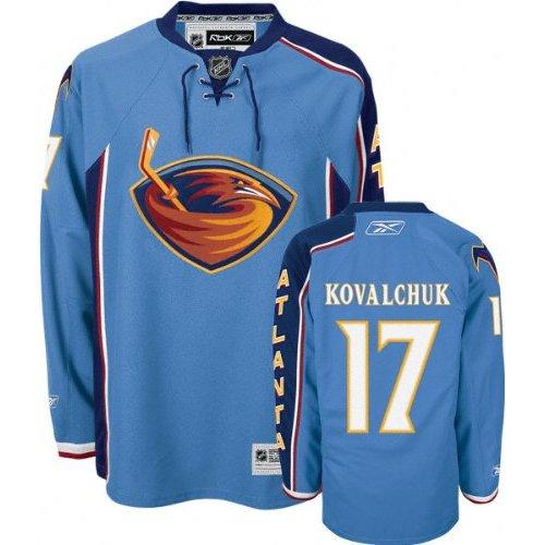 NHL Atlanta Thrashers #17 Kovalchuk Blue Jersey