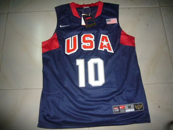 NBA Olympic USA #10 BYYANT Basketball Jersey