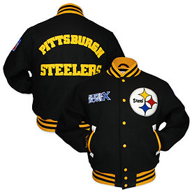 Pittsburgh Steelers Half Back Wool Jacket
