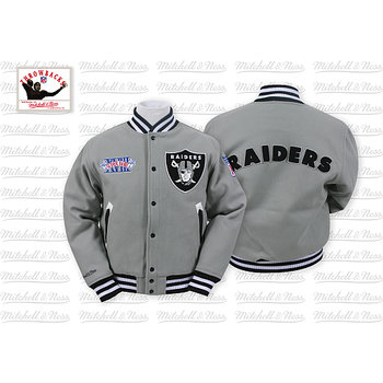 Mitchell & Ness Oakland Raiders Halfback Jacket
