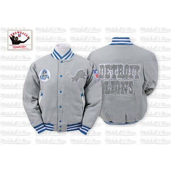 Mitchell & Ness Detroit Lions Halfback Jacket