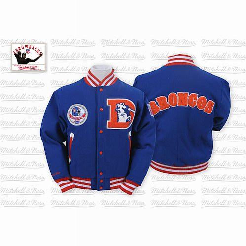 Mitchell & Ness Denver Broncos Halfback Jacket