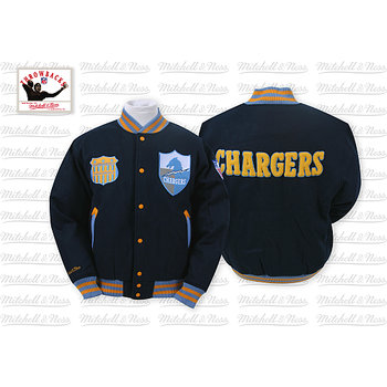 Mitchell & Ness San Diego Chargers Halfback Jacket