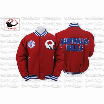 Mitchell & Ness Buffalo Bills Halfback Jacket