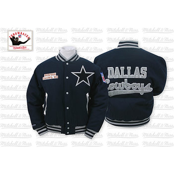 Mitchell & Ness Dallas Cowboys Halfback Jacket