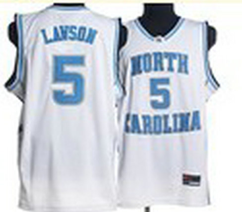 North Carolina Tar Heels #5 Ty Lawson Baby White College Jersey