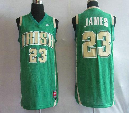Jordan 23# Green NCAA