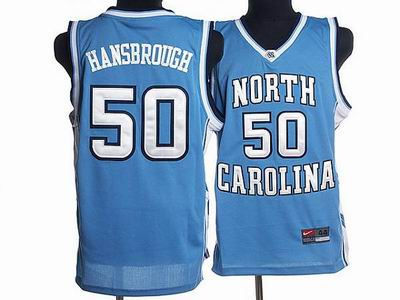 North Carolina #50 Tyler Hansbrough Embroidered blue