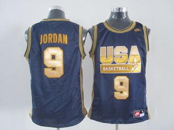 USA 9 Jordan BLUE jersey