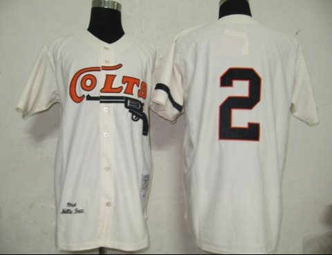 MLB Jerseys Colts 2 Cream