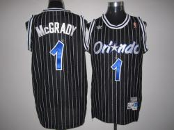 NBA Orlando Maglc #1 Mcgrandy Black Jerseys swingman