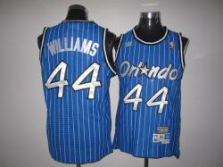 NBA Orlando Maglc #44 Williams Blue Jerseys swingman