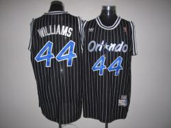 NBA Orlando Maglc #44 Williams Black Jerseys swingman