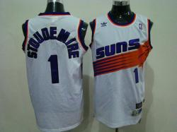 NBA Phoenlx Suns #1 stoudemire White Jerseys swingman