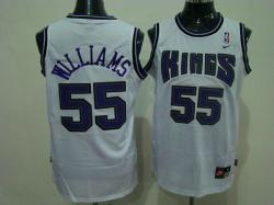 NBA Sacramento Kings #55 Willams White jerseys swingman