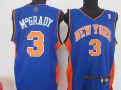 NBA New York Knicks #3 MCGRADY Purple Jerseys SWINGMAN