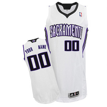 Kings Personalized Authentic White Jersey (S-3XL)