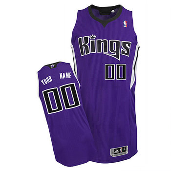 Kings Personalized Authentic Purple Jersey (S-3XL)