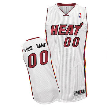 Heats Personalized Authentic White Jersey (S-3XL)