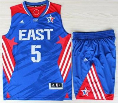 2013 All-Star Eastern Conference Boston Celtics 5 Kevin Garnett Blue Revolution 30 Swingman NBA Suits