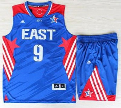 2013 All-Star Eastern Conference Boston Celtics 9 Rajon Rondo Blue Revolution 30 Swingman NBA Suits