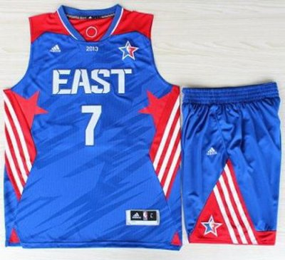 2013 All-Star Eastern Conference New York Knicks 7 Carmelo Anthony Blue Revolution 30 Swingman NBA Suits