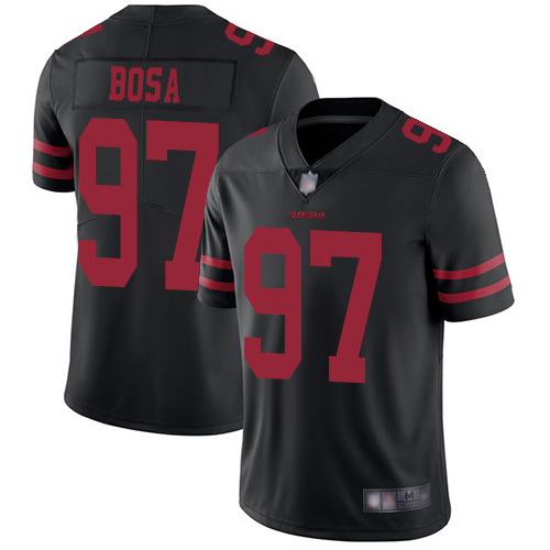 49ers #97 Nick Bosa Black Alternate Men's Stitched Football Vapor Untouchable Limited Jersey