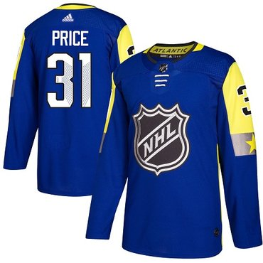 Adidas Canadiens #31 Carey Price Royal 2018 All-Star Atlantic Division Authentic Stitched NHL Jersey