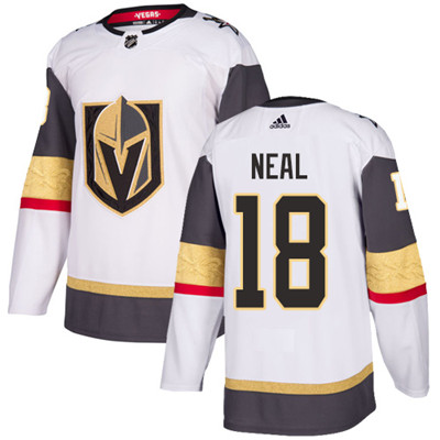 Adidas Golden Knights #18 James Neal White Road Authentic Stitched Youth NHL Jersey