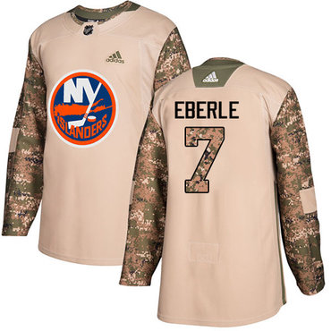 Adidas Islanders #7 Jordan Eberle Camo Authentic 2017 Veterans Day Stitched Youth NHL Jersey