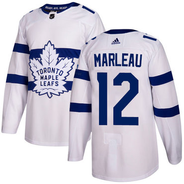Adidas Maple Leafs #12 Patrick Marleau White Authentic 2018 Stadium Series Stitched NHL Jersey