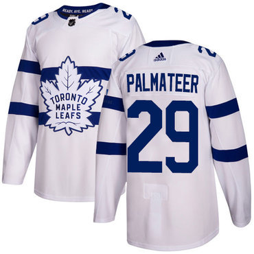 Adidas Maple Leafs #29 Mike Palmateer White Authentic 2018 Stadium Series Stitched NHL Jersey