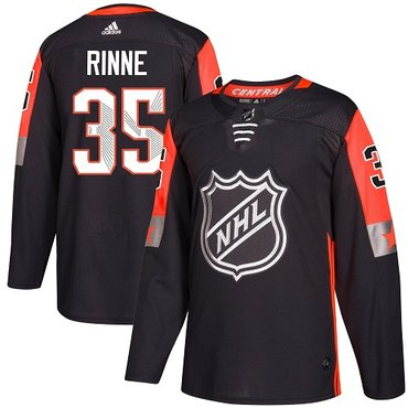 Adidas Predators #35 Pekka Rinne Black 2018 All-Star Central Division Authentic Stitched NHL Jersey