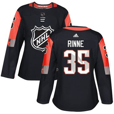 Adidas Predators #35 Pekka Rinne Black 2018 All-Star Central Division Authentic Women's Stitched NHL Jersey